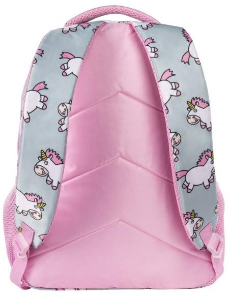 zaino junior chubby unicorn fringoo vista posteriore
