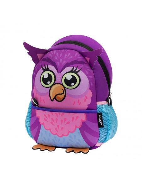 zainetto in neoprene OWL vista laterale
