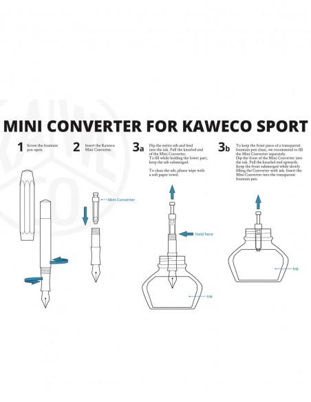 Mini Converter Kaweco Sport istruzioni