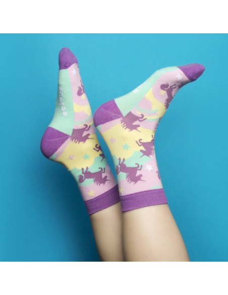 calzini gift box unicorn theme fringoo vista tema 3 emozionale