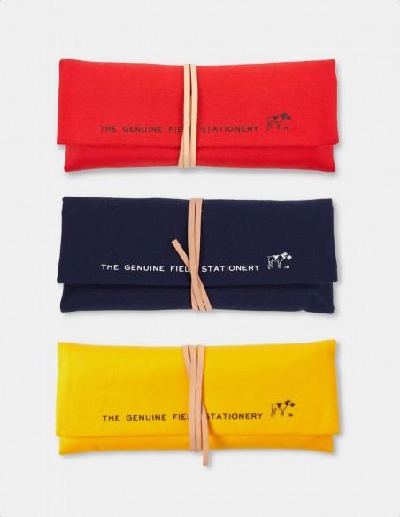 Astuccio arrotolabile Field Roll HIGHTIDE in tre varianti rosso giallo blu