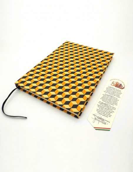 Quaderno cartonato cubi giallo nero Grafiche Tassotti con garanzia