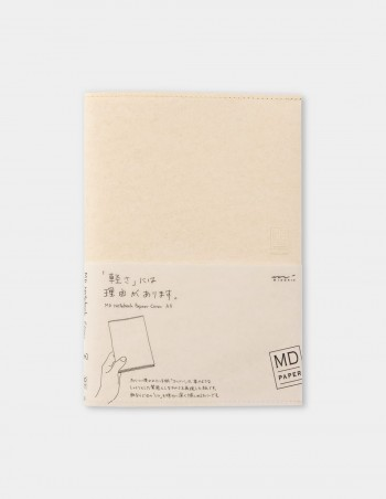 Copertina per Notebook MD Paper vista frontale confezionata