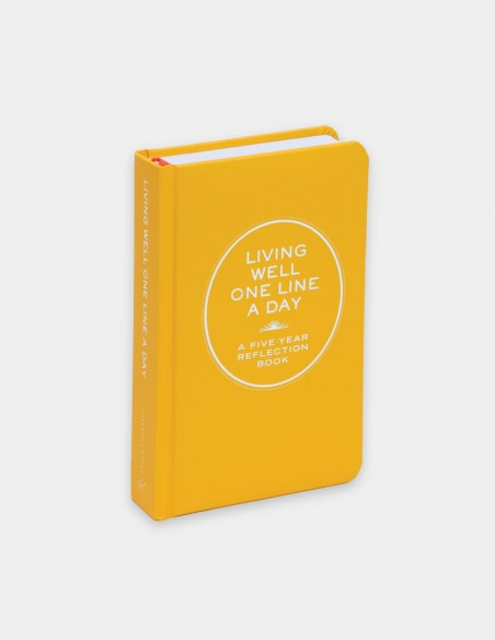 Diario One Line a day Living Well vista frontale