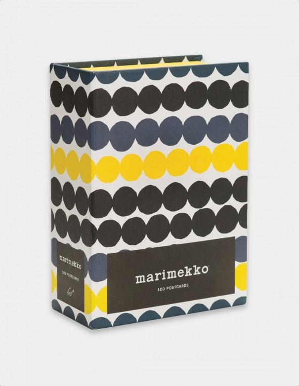 Marimekko 100 postcards vista frontale cofanetto