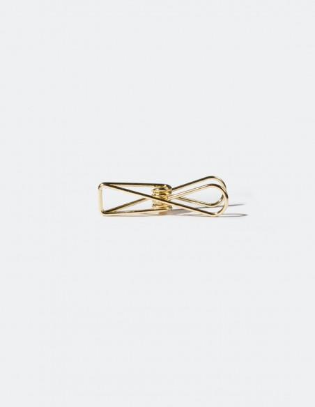 Mollette Wire Clips Tools to Liveby Gold vista molletta 2