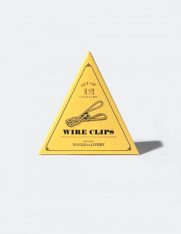 Mollette Wire Clips Tools to Liveby Gold