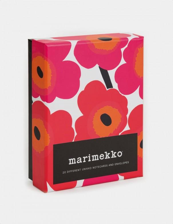 Marimekko Notes biglietti da visita con buste vista frontale