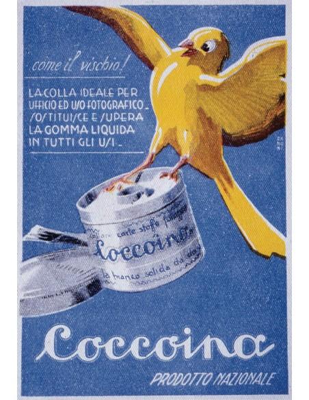 Coccoina prodotto nazionale locandina 1935