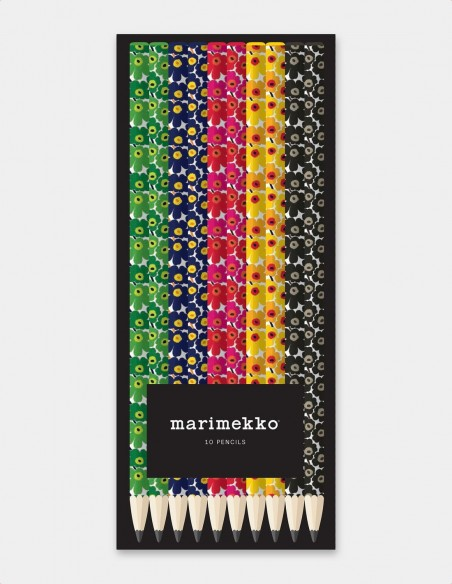 Set di matite Marimekko vista frontale scatola chiusa