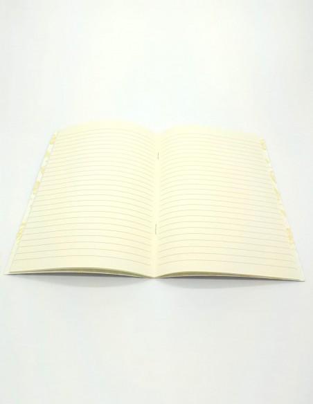 Quaderno a righe Remondini triangoli Grafiche Tassotti aperto
