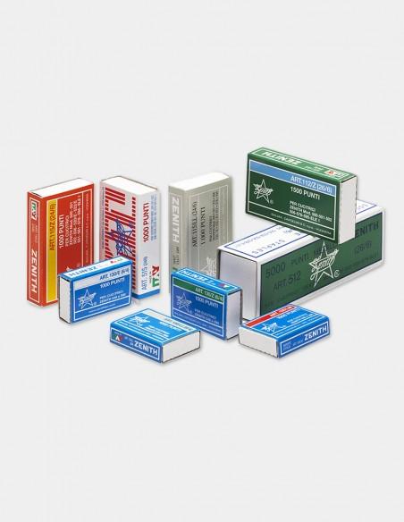 Punti metallici Zenith 130/E modelli disponibili