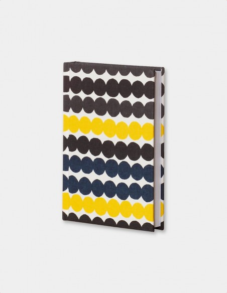 Quaderno in tessuto Marimekko cloth covered journal, vista generale copertina in tessuto