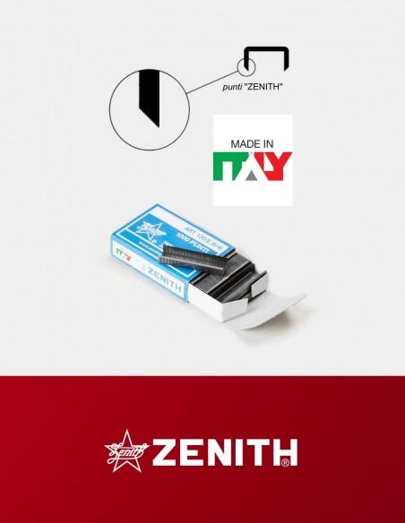 Punti metallici Zenith 130/E gambine affilate