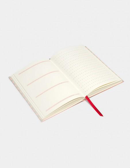 Quaderno Olivetti Pattern vista interna pagine e pattern