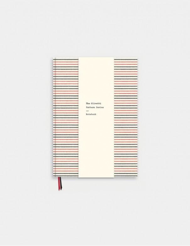 Quaderno Olivetti Pattern vista frontale chiuso