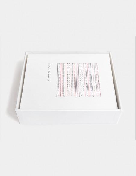 Biglietti Olivetti Pattern Series set di notecards vista del contenuto