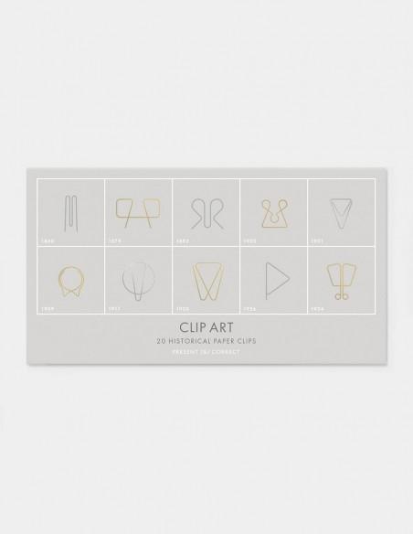Collezione graffette Clip Art di Present & Correct confezione busta chiusa