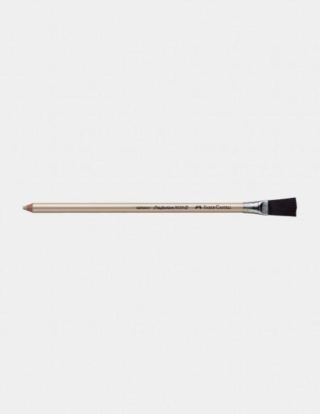 Gomma a matita Perfection Faber-Castell con spazzolino vista orizzontale