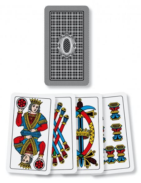 Carte da gioco regionali Bergamaseche Dal Negro dorso e semi