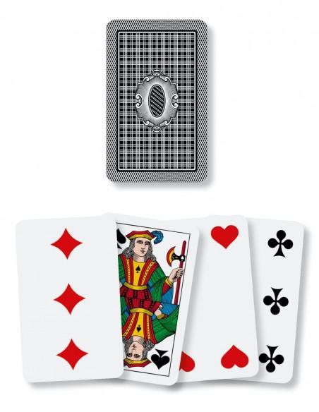 Carte da gioco regionali Piemontesi Dal Negro dorso e semi