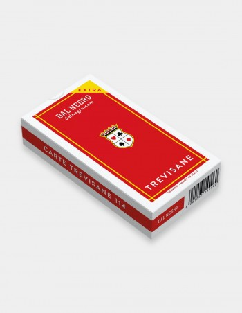 Carte da gioco regionali Trevisane Dal Negro da 40 con astuccio rosso