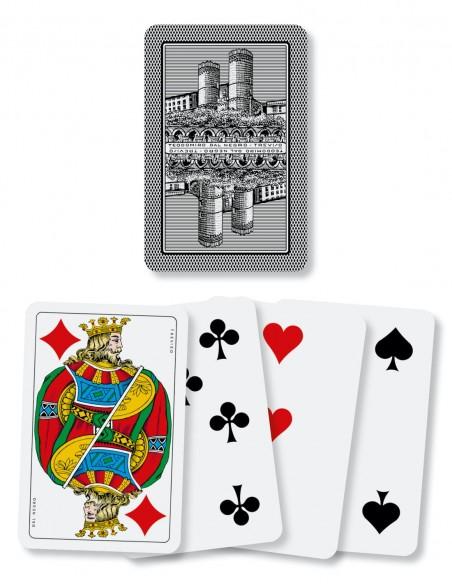 Carte da gioco regionali Genovesi Dal Negro dorso e semi