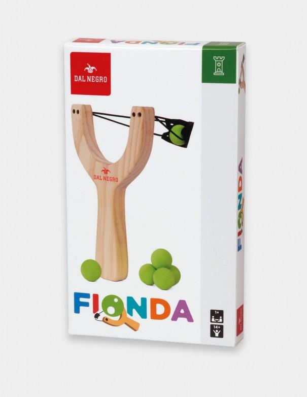 Fionda in legno Dal Negro foto confezione