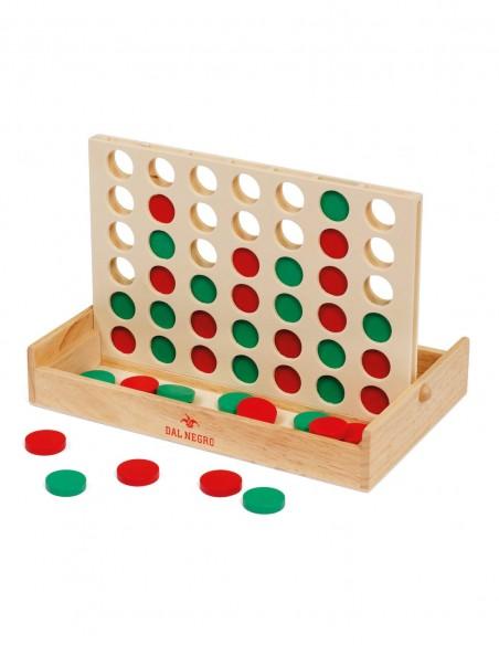 Fai Quattro in legno Dal Negro gioco