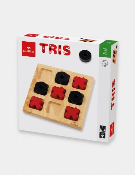 Gioco Tris in legno Dal Negro foto confezione