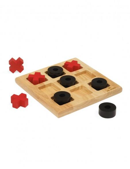 Gioco Tris in legno Dal Negro foto contenuto scatola