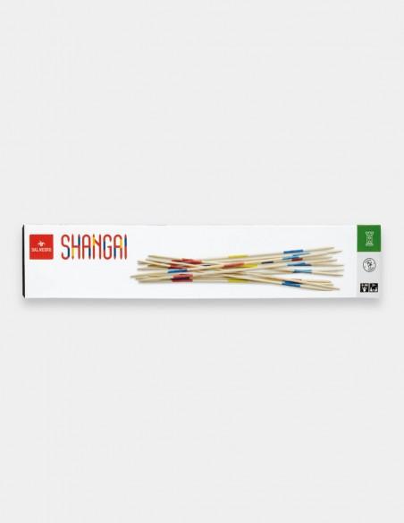 Tradizionale gioco dello Shangai 50 cm in legno Dal Negro foto confezione