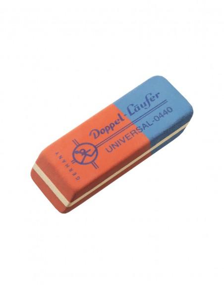 Gomma bicolore rossa e blu modello UNIVERSAL-0440 Doppel Läufer Lebez in gomma naturale caucciù
