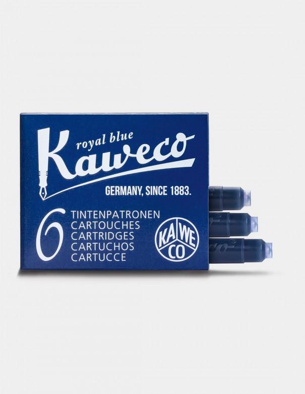 Cartucce Stilografica Standard Kaweco colore royal blue x 6