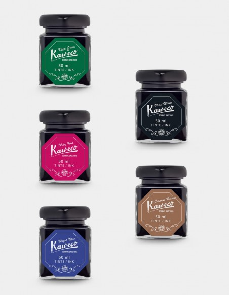 Bottiglie di inchiostro Kaweco da 50 ml assortimento colori