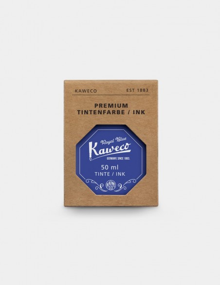 Bottiglia di inchiostro Kaweco da 50 ml colore Royal Blue con scatolina