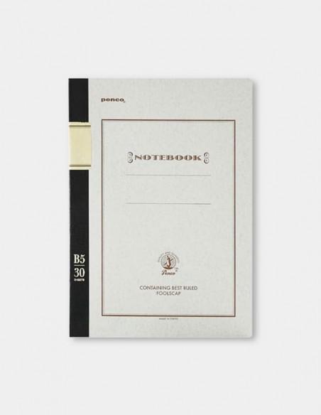 Quaderno protocollo Notebook penco B5 colore marrone vista frontale