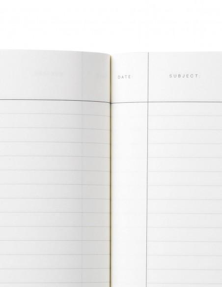 Quaderno notebook di Notem Studio collezione Vita dimensione small pagina a riche con margini
