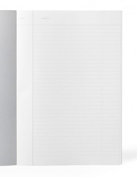 Quaderno collezione Vita di Notem Studio formato Large con pagine a righe con margine
