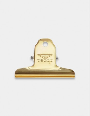 Molletta fermacarte Clampy Clip di Penco Japan colore gold