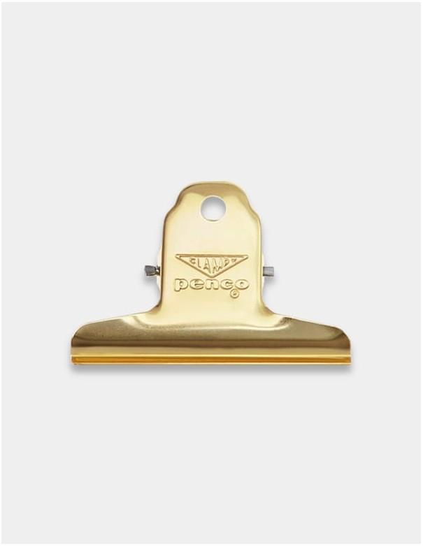 Molletta fermacarte Clampy Clip di Penco Japan colore gold