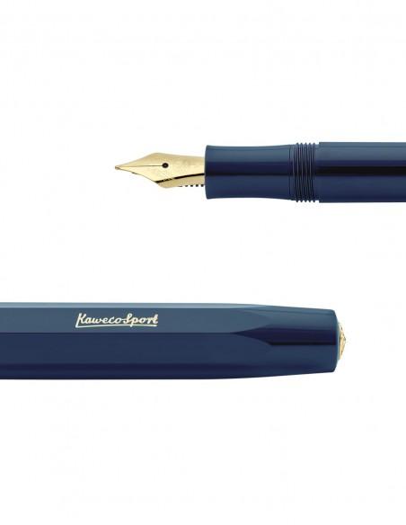 Penna Stilografica Classic Sport Kaweco colore Navy dettaglio