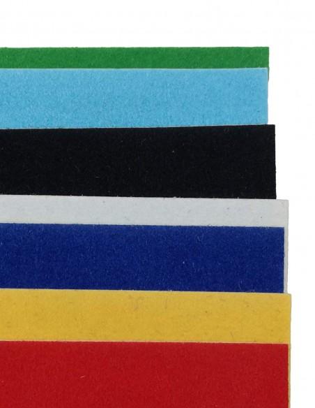Album collage in velluto autoadesivo CWR Milano articolo 700/7 Vintage particolare fogli colorati
