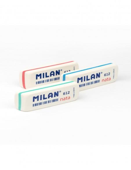 Gomma da cancellare sintetica Milan Nata 612 striscia colorata