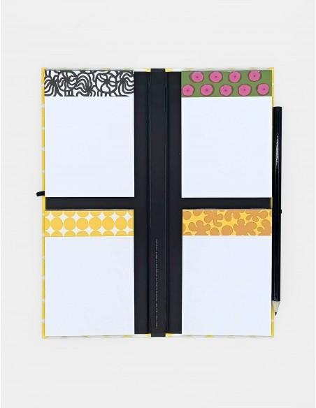 Set Notepads Marimekko in cofanetto portfolio aperto