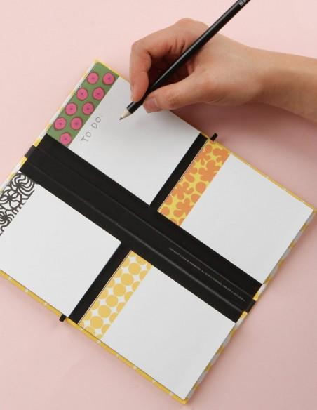 Set Notepads Marimekko in cofanetto portfolio in uso