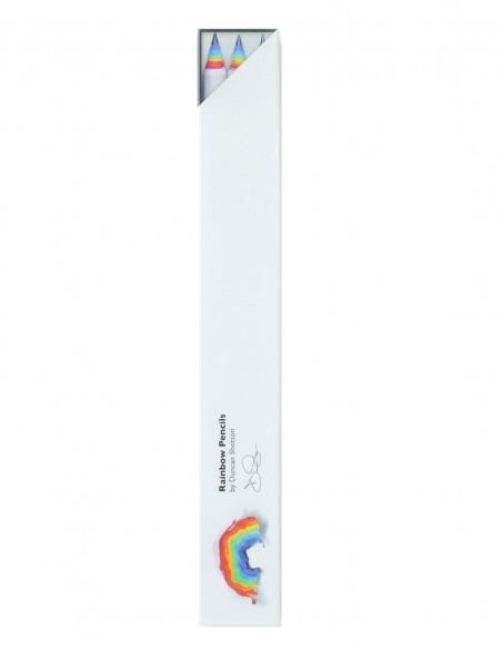 Matite arcobaleno Duncan Shotton rainbow pencil colore bianco confezione 3 pezzi