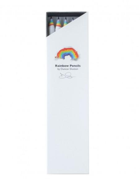 Matite arcobaleno Duncan Shotton rainbow pencil colore bianco confezione 5 pezzi