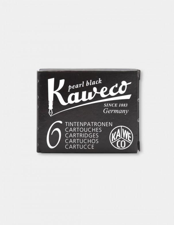 Cartucce Stilografica Standard Kaweco colore pearl black