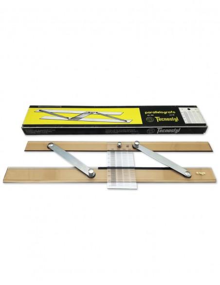Parallelografo 35 cm con scalimetro articolo 104 Tecnostyl per tracciamento linee parallele